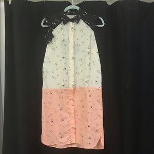 NWT Marni Printed Mid-Length Colorblock Dress